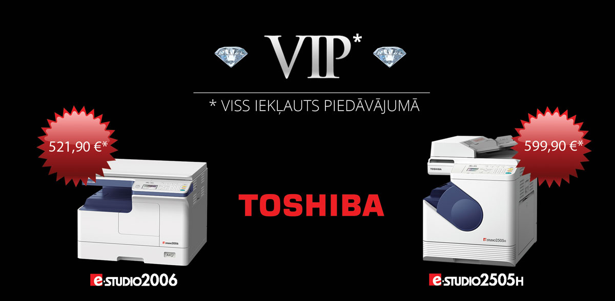 Toshiba biroja tehnika