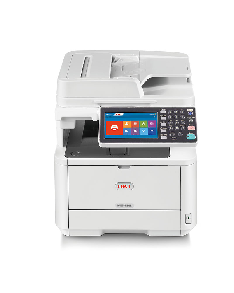 OKI MC492dn melnbalts multifuncionālais printeris