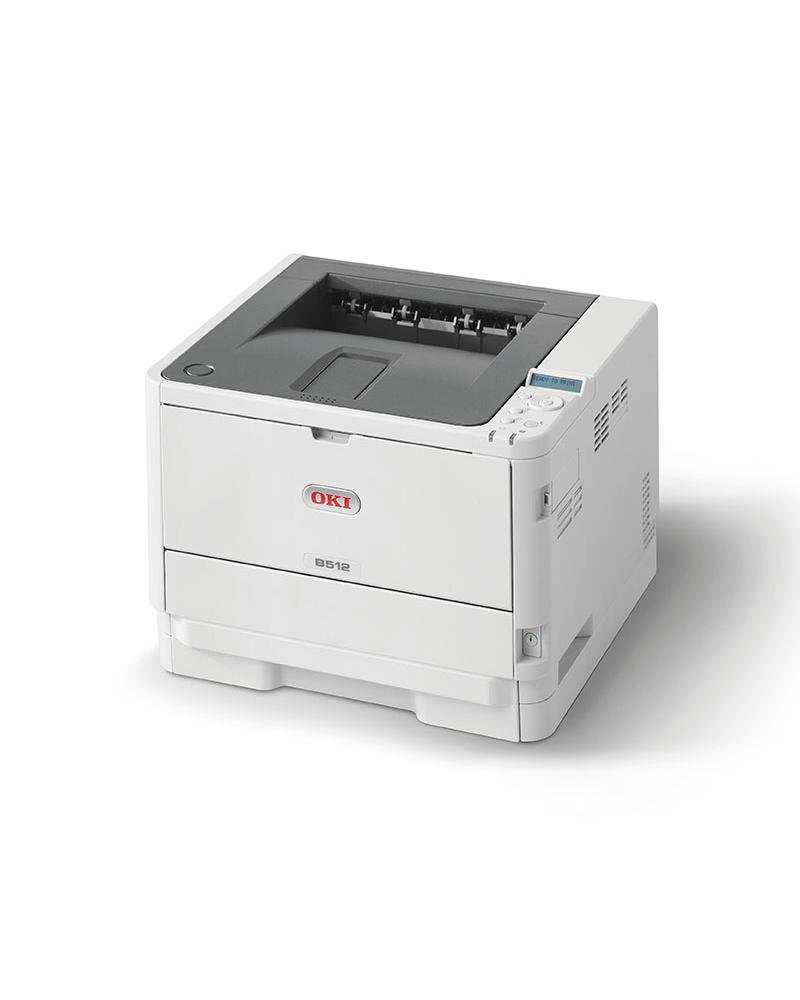 OKI MC512dn melnbalts printeris