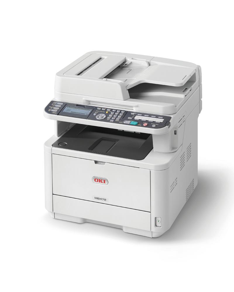 OKI MC472dnw melnbalts multifuncionāls printeris