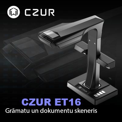 Czur ET16 dokumentu skenera akcija