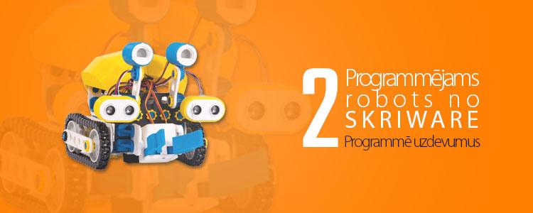 3D drukāts robots programmēšanai