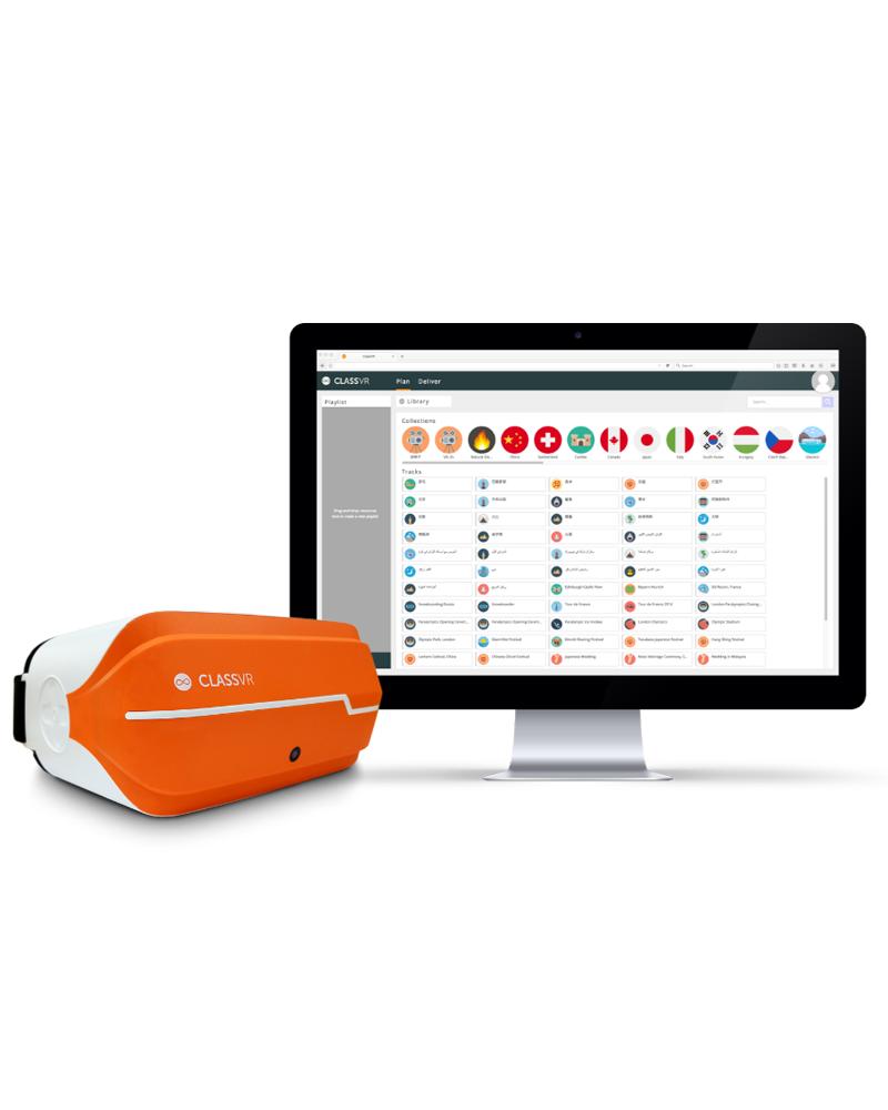 Class VR 3D virtuālās brilles