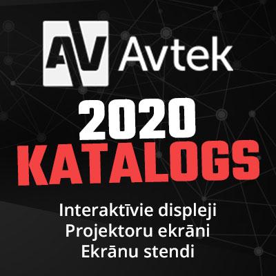 Avtek 2020 preču katalogs