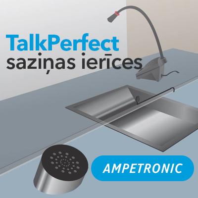 TalkPerfect saziņas iekārtas aizsargbarjerām