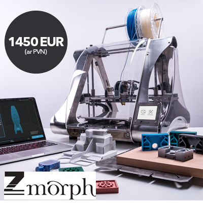 Zmorph VX 3D īpašais piedāvājums