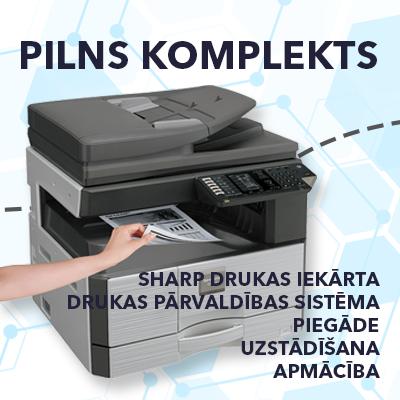 Sharp printeru akcija