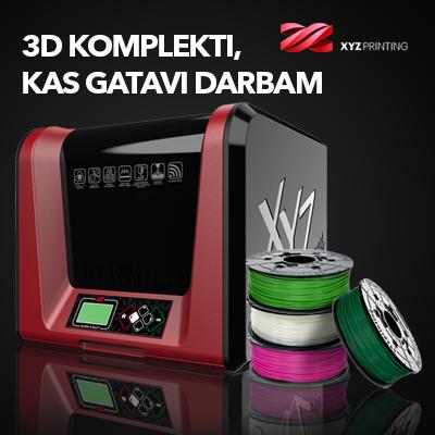 3D printeru komplekti