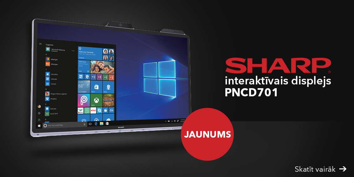 Sharp PNCD701 interaktīvais displejs