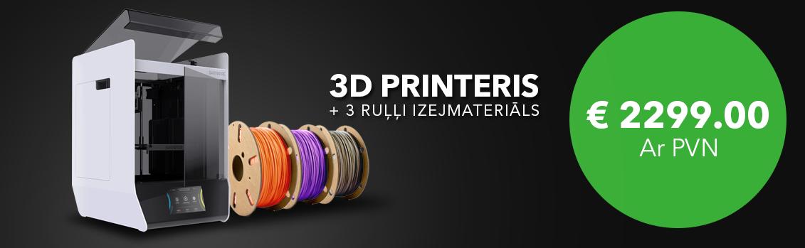 Skriware 2 3D printera īpašais piedāvājums