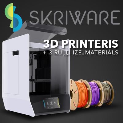Skriware 2 3D printeris