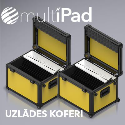 MultiPad uzlādes koferi