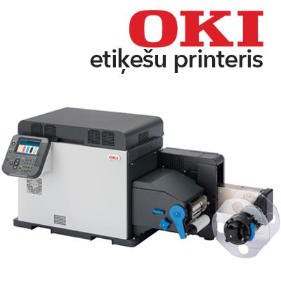 OKI Pro1050 etiķešu printeris attēls
