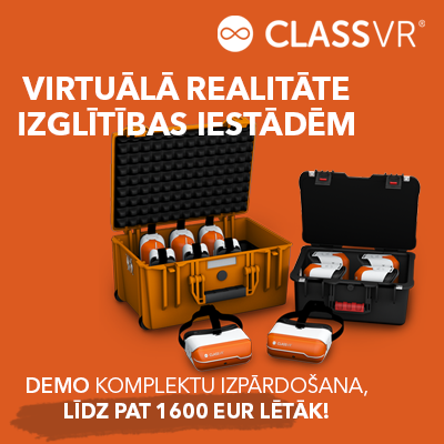 ClassVR demo modeļu izpārdošana