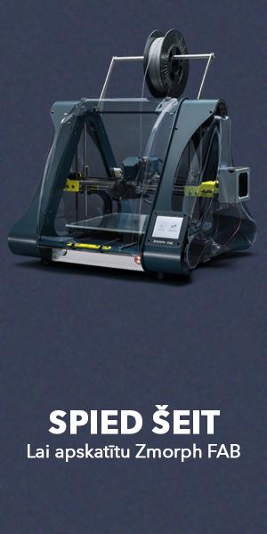 Zmorph FAB 3D printeris - SIA Tomega