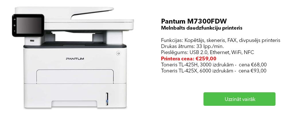Pantum M7300DFW multifunkcionāls printeris