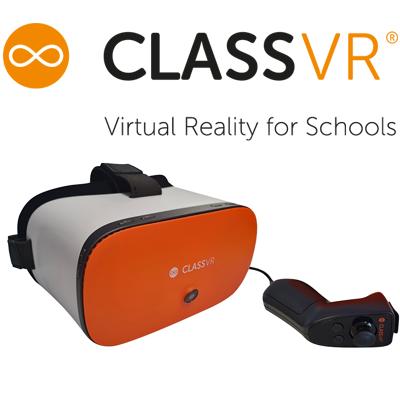 Class VR virtuālās brilles iziglītības iestādēm