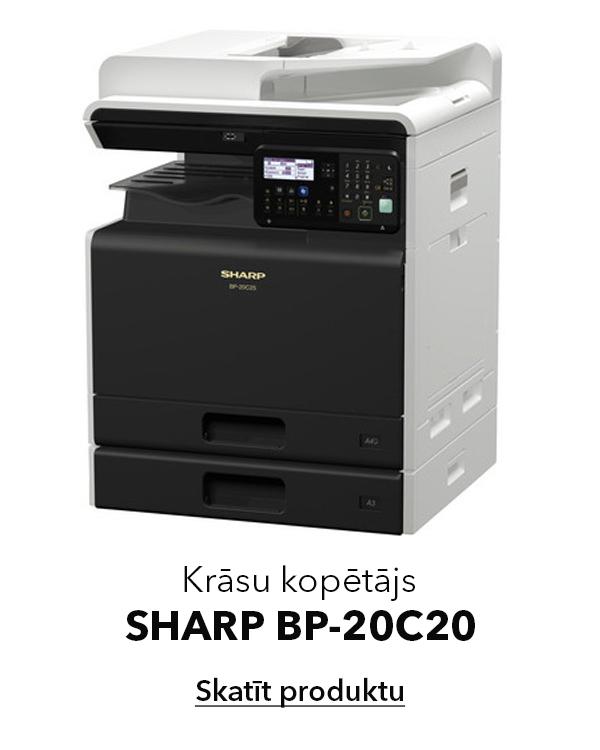 Krāsu kopētājs printeris Sharp BP 20C20