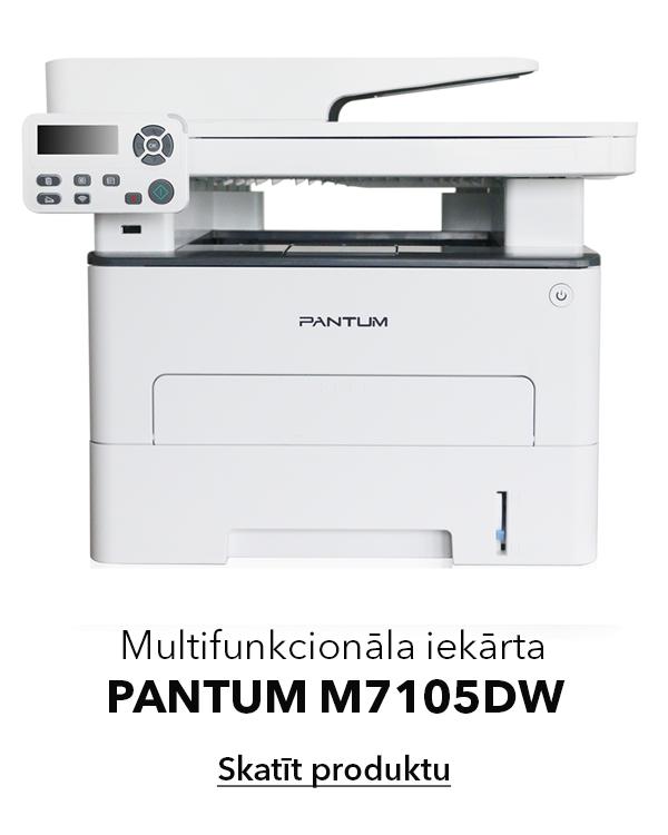 PANTUM M7105DW multifunkcionāls lēts printeris