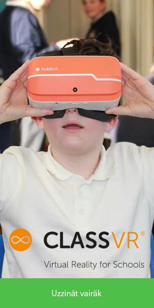 Class VR virtuālās realitātes brilles