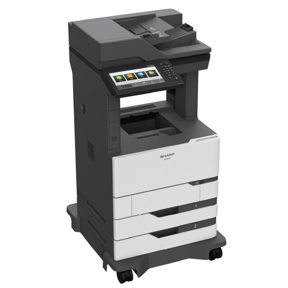 SHARP MX-B557F multifunkcionāls melnbalts printeris