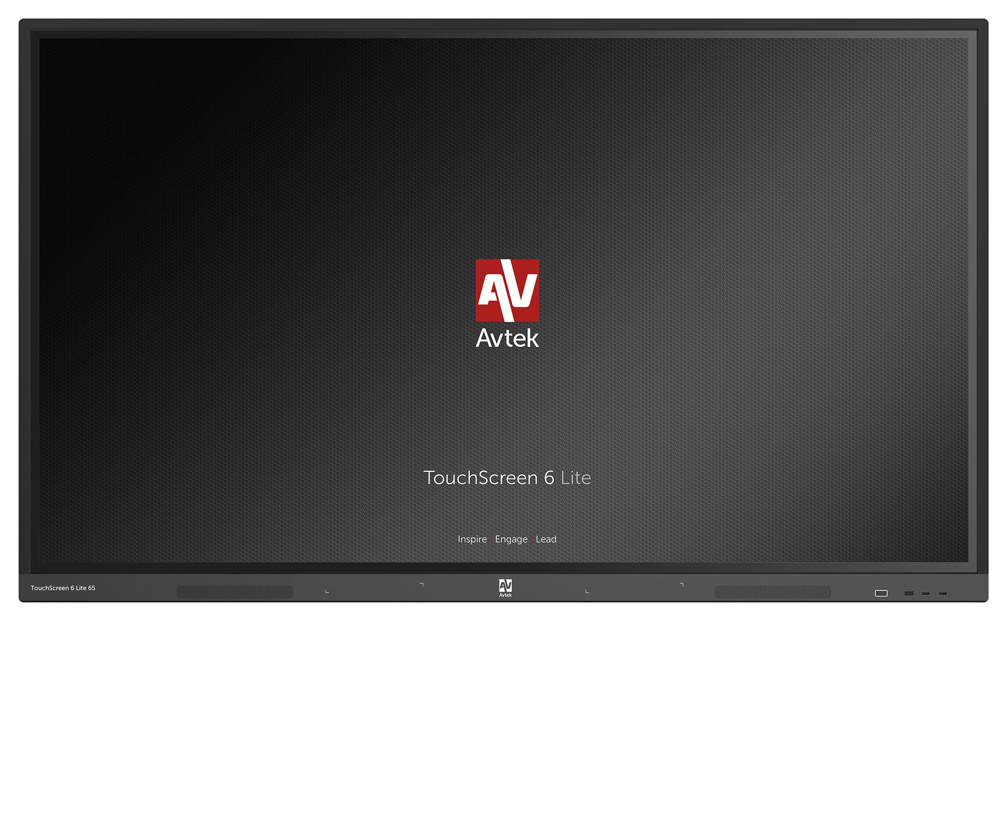 Avtek TouchScreen 6 Lite 65 interaktīvais displejs skolai, birojam vai konferenču telpai