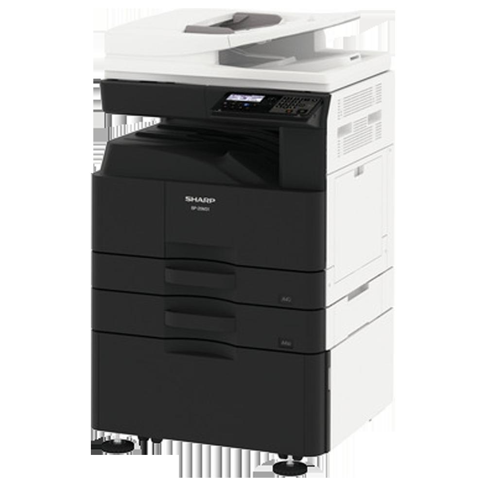 SHARP BP20M22 ar papildus lādi un pamatni A3 multifunkcionāls printeris